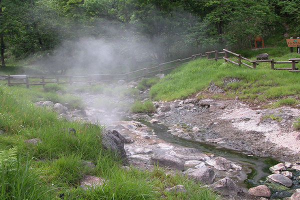 Tomuraushi natural recreation forest camping ground